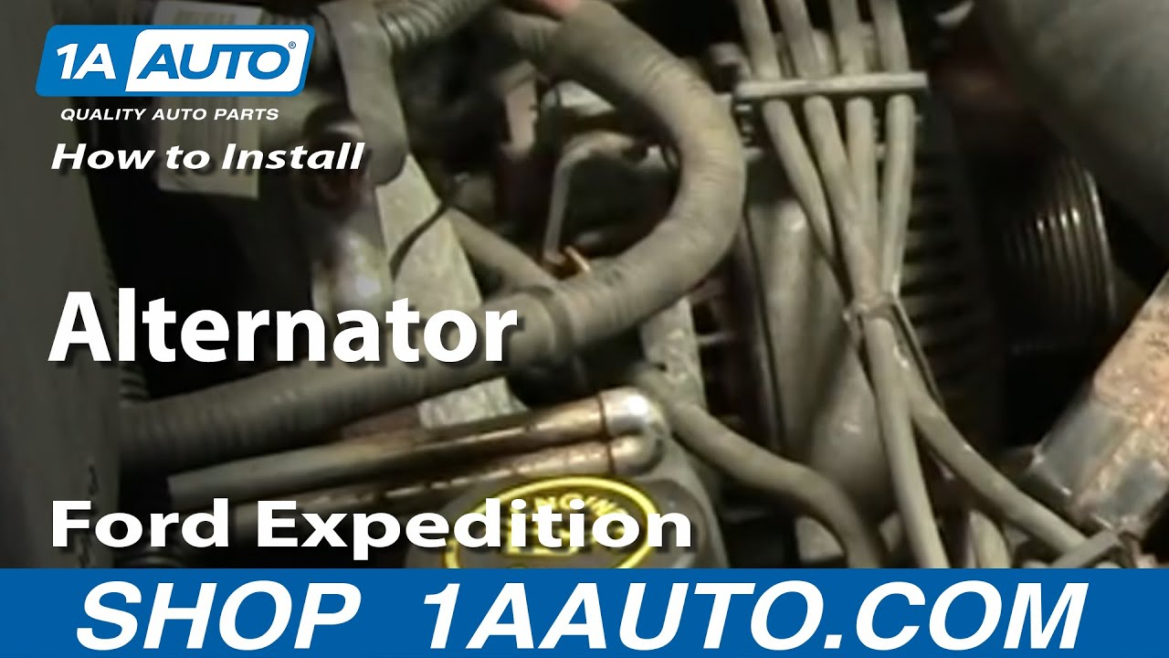Xlt Fuse Box Diagram How To Install Replace Alternator Ford F 150 Expedition