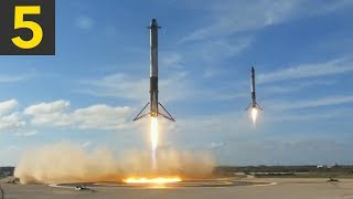 Top 5 Amazing SpaceX Landings