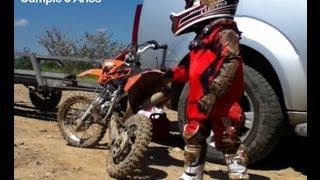 Niño en moto 5 años Ramón Godino