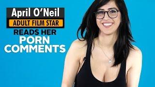 Adult Film Star April O'Neil Reads Comments Left on Her Pornhub
