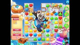Cookie Jam Level 5390(with mandatory boosters)
