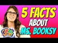 5 Facts About Ms. Booksy! Learn All About Ms. Booksy! | Cool School