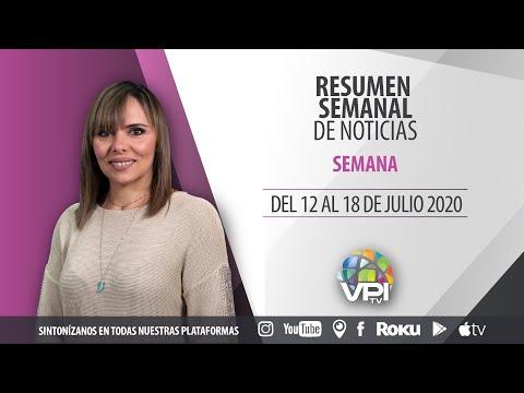 Resumen semanal de noticias del 12 al 18 de Julio - VPItv
