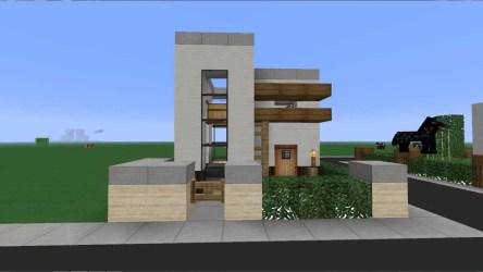 minecraft casa moderna 6x6