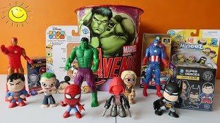 Spiderman y Batman Mystery Minis, Mineez Minions y TsumTsum Disney Blind Boxes   Kidspace Town