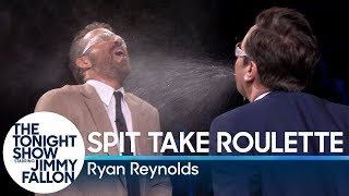 Spit Take Roulette with Ryan Reynolds