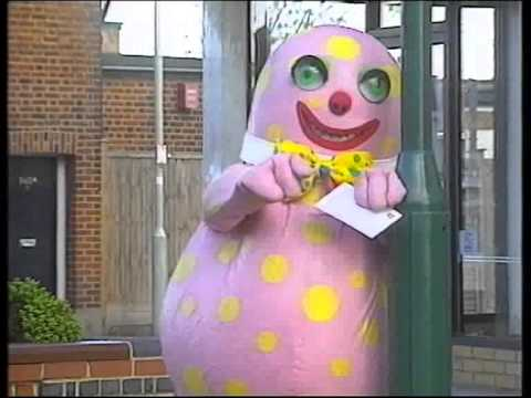 Mr Blobby Sees The Optician  YouTube
