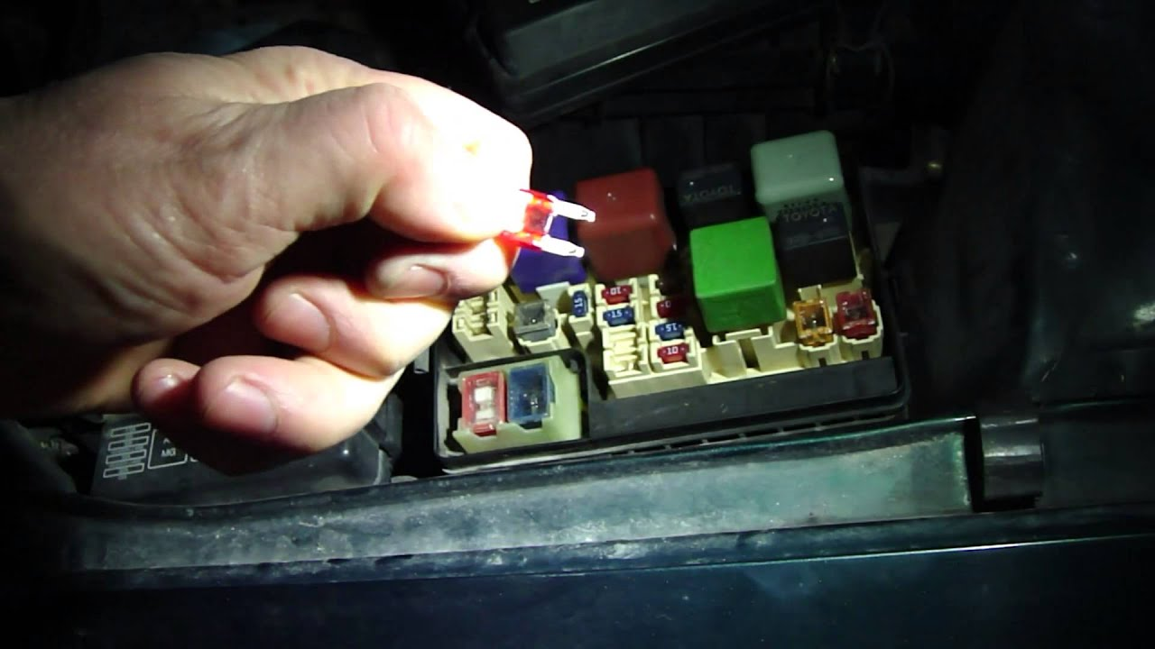 2003 Jeep Wiring Diagram How To Check Fuses In Toyota Corolla Year Models 1996 To