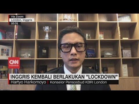 Inggris Kembali Berlakukan 'Lockdown'