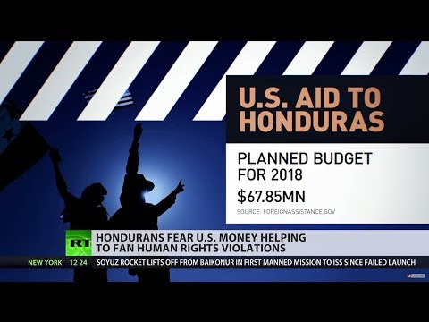 US aids Honduras financially, citizens fear the money inflames human rights violations