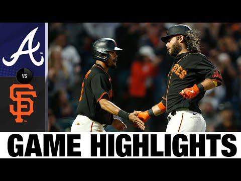 Braves vs. Giants Game Highlights (9/18/21) | MLB Highlights