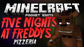 FREDDY FAZBEAR'S PIZZERIA!!! - Five Nights At Freddy's Map