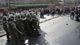 Disturbios en Colombia por el culpa del Presidente Santos