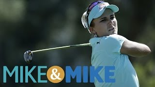 Mike Golic Outraged Over Lexi Thompson Penalty Call | Mike & Mike | ESPN