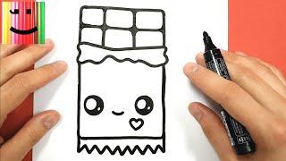 Download Como Dibujar Un Bote De Nutella Kawaii Paso A Paso