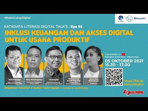 Inklusi Keuangan dan Akses Digital Untuk Usaha Produktif