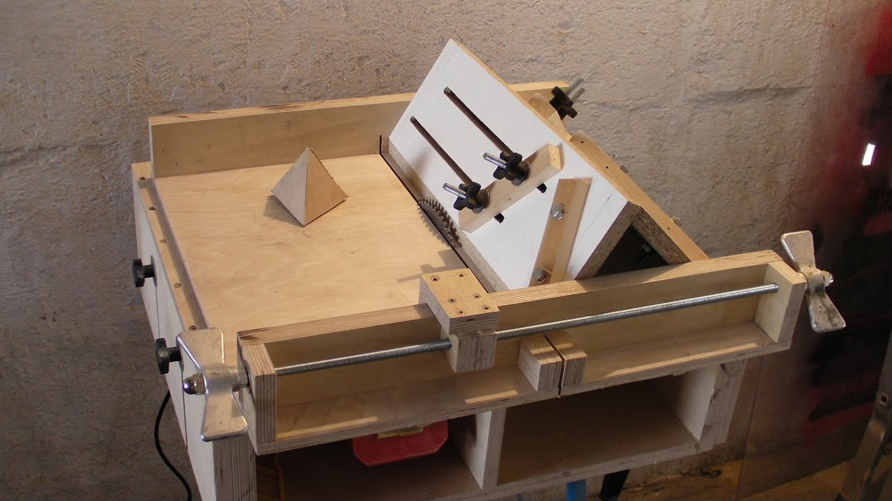 Homemade Table Saw Sledge