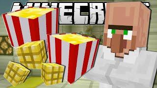 Minecraft   MOVIE NIGHT SNACKS!! (Popcorn Machine)   Custom Command