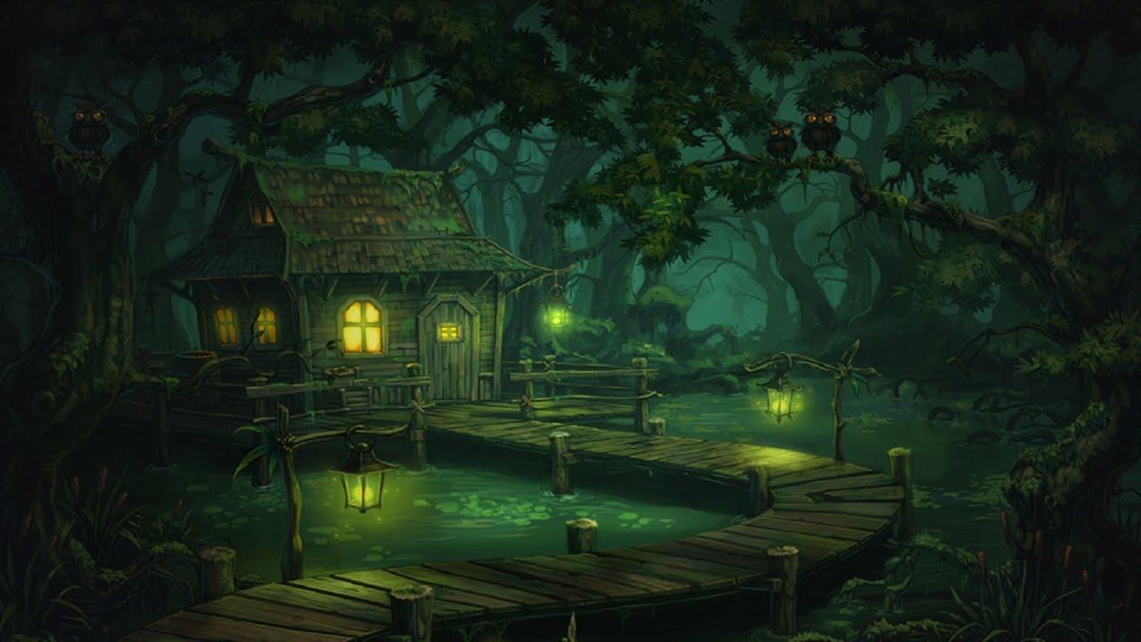 Evil Dark Fantasy Girl Wallpaper Hd Creepy Swamp Music Murky Swamp Youtube