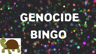 Genocide Bingo