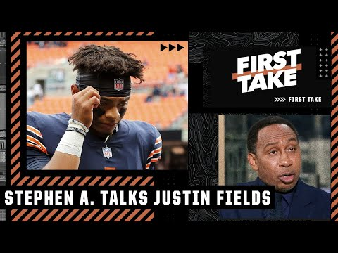 'You don't throw Justin Fields into THAT situation!' - Stephen A. on the Bears | First Take