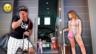 LEAVING OUR KIDS FOR THE FIRST TIME!!! **SAYING GOODBYE**