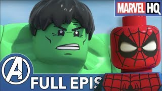 LEGO Avengers Fight Super Villains! | Marvel LEGO: Maximum Overload (ALL EPISODES)