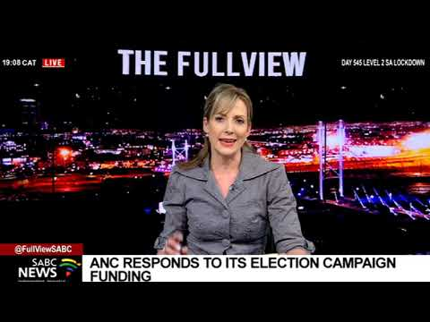 LGE 2021   Pule Mabe clarifies ANC's election campaign funding