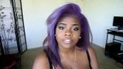 pastel natural hair and