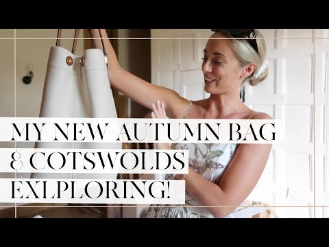 COTSWOLDS EXPLORING & MY DREAM BAG FOR AUTUMN // Fashion Mumblr Vlogs AD