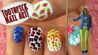 Nail Arts Using Toothpick | Nail Art Designs