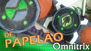 DE PAPELÃO | Omnitrix que muda de alien! (Relógio do Ben 10)