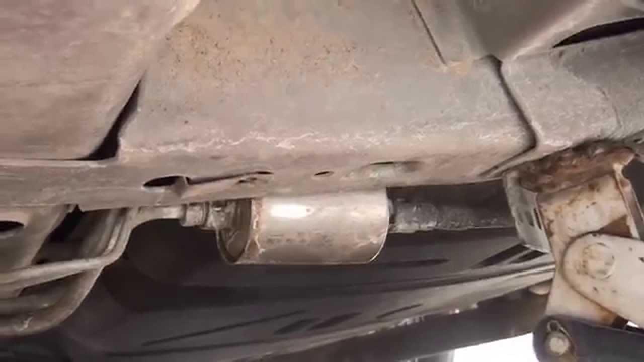 2001 Chevy Malibu Fuel Filter Location