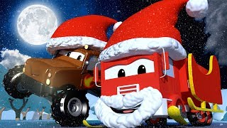 Troy The Train - CHRISTMAS - A Bag of Gifts Has Fallen From Santa's SLEIGH - Train for kids