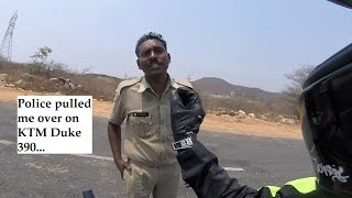 Police pulled me over on KTM Duke 390. See what I DID...