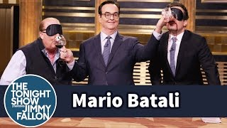 Mario Batali and Jimmy Have a Blind Wine Taste Test