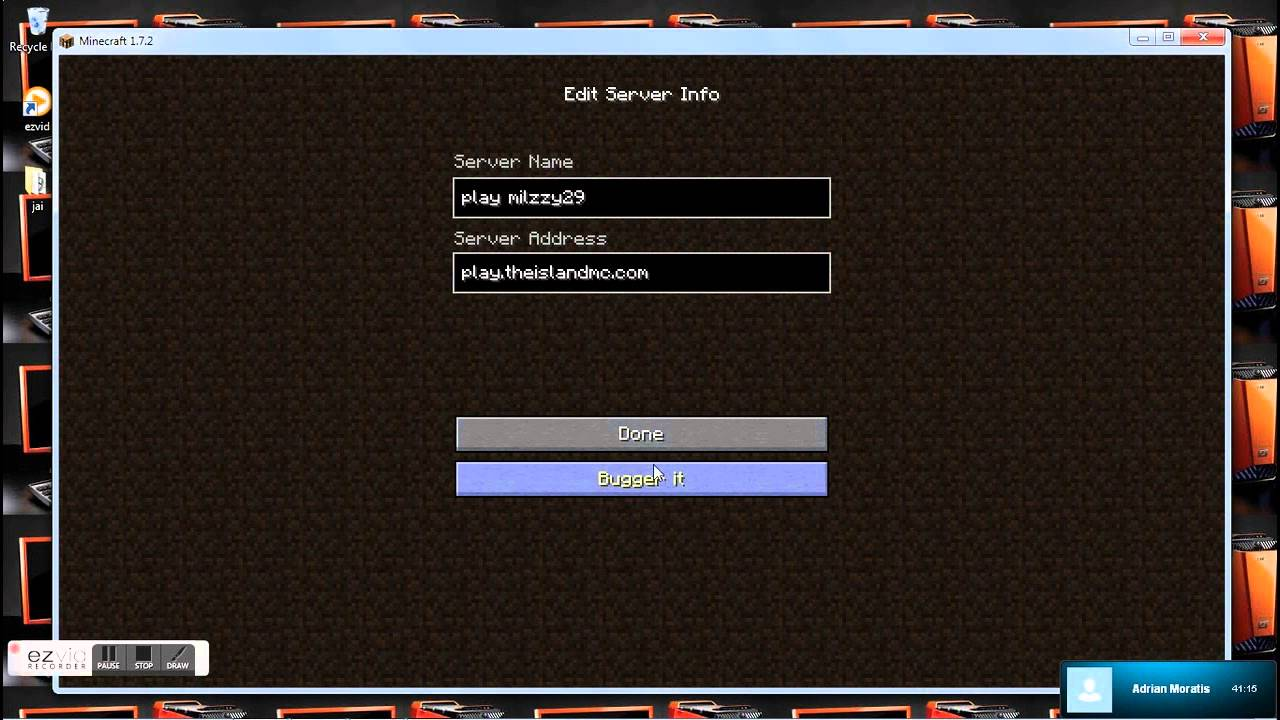 Can Where Server Find Minecraft I Pe Address