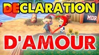 [ACNL] DECLARATION D'AMOUR