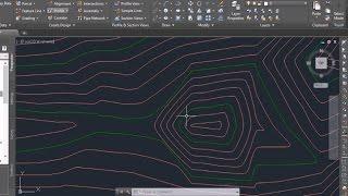 Autocad Civil 3D Import points and Create contours / surface