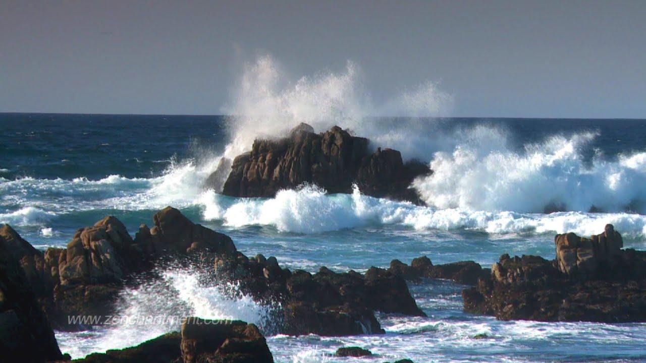 Heart Breaking Quotes Wallpapers Zen Ocean Waves Ocean Sounds Only No Music Aquatic