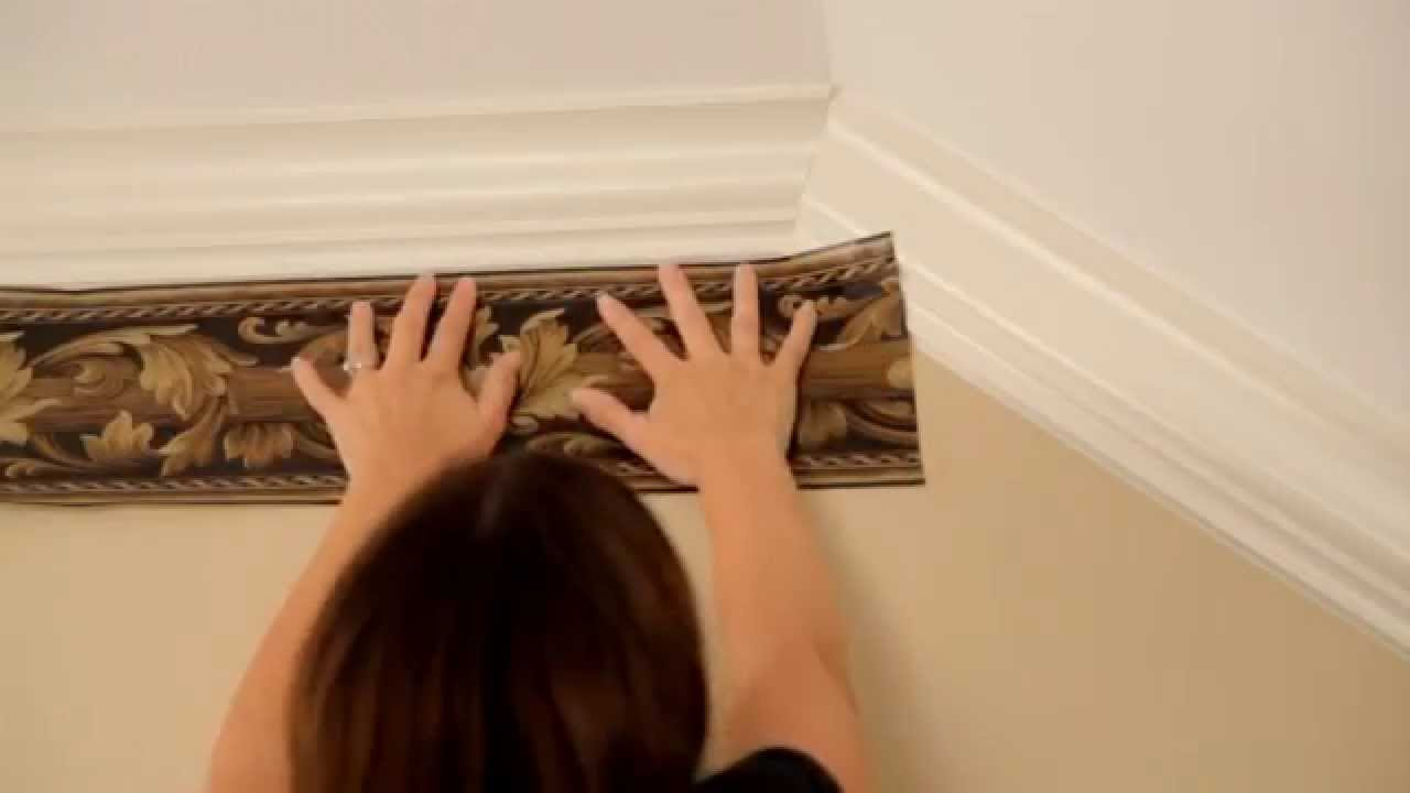 Wallpaper Border Installation; How To Transition From A