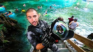 Treasure Hunting In Worlds Most Populated Spring!! (interesting finds) | Jiggin' With Jordan