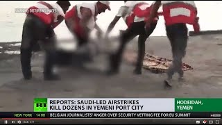 'US should condemn Yemen catastrophe': Reports say Saudi-led airstrikes kill dozens in Yemen
