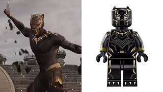 LEGO BLACK PANTHER & MORE - Minifigures VS Movies & Comics