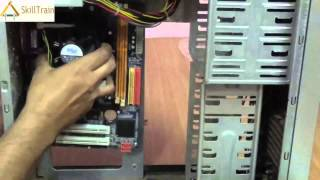 Assembling the Cabinet of a CPU (Hindi) (हिन्दी)