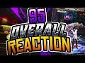 95 OVERALL LIVE REACTION! DOUBLE VC FOR EVERY GAME! NBA 2K18
