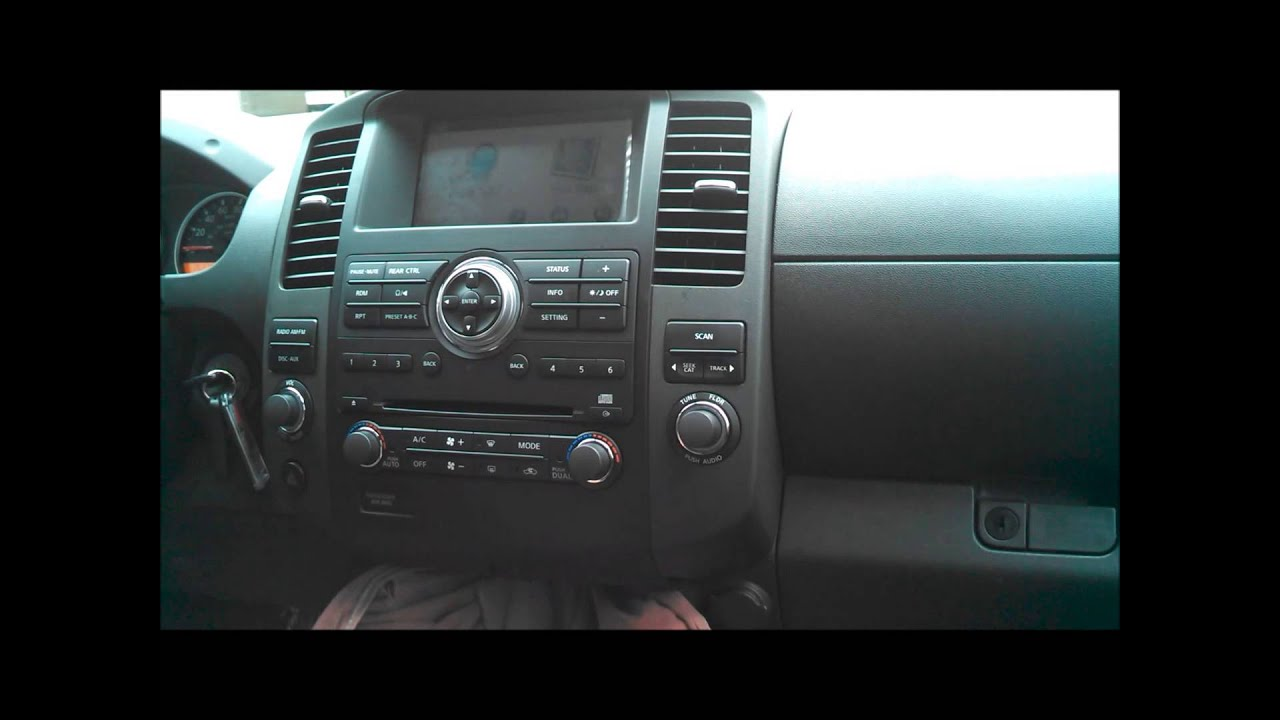 2013 Nissan Frontier Stereo Wiring Added Factory Integrated Garmin Navigation System To A
