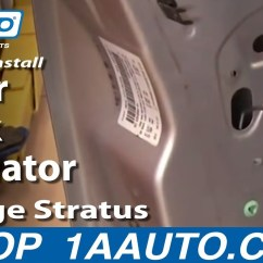 2000 Dodge Stratus Wiring Diagram Directv How To Install Replace Door Lock Actuator 01-06 1aauto.com - Youtube