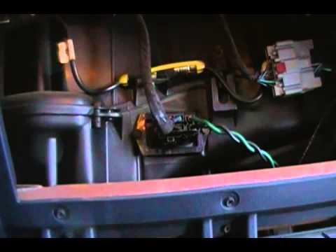 Caravan Socket Wiring Diagram How To Change The Blower Motor Resistor 2002 Dodge