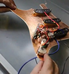 wiring a fender stratocaster fitting pickups and volume and tone [ 1280 x 720 Pixel ]